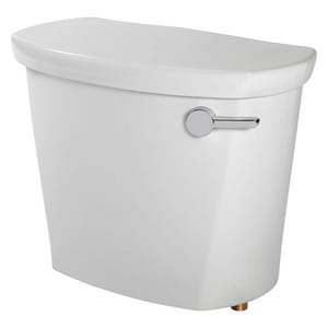 American Standard Access Pro™ 1.28 gpf Toilet Tank in White with Right-Hand Trip Lever A4188A108020