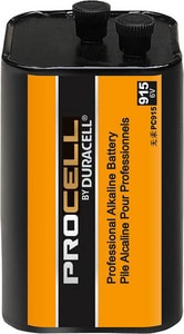 Duracell Procell® 6 V Procell Square Cut Alkaline Lantern Battery 1-Pack DPC915