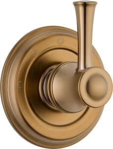 Brizo Baliza® Tub and Shower Diverter Valve with Single Lever Handle in Brilliance Brushed Bronze DT60805BZ