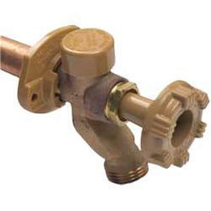 Woodford Manufacturing Model 17 PEX Freezeless Wall Hydrant with 1/2 in. Male Hose Thread Nozzle W17PXMH