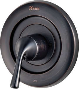 Pfister Tub and Shower Valve Trim Only with Single Metal Lever Handle in Tuscan Bronze PR901DSY