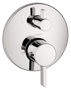 Hansgrohe S Thermostatic Trim With Volume Control And Diverter 04231000 Ferguson