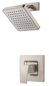 Pfister Kenzo™ 2 gpm Single Lever Handle Shower Trim Kit in Brushed Nickel PG897DFK
