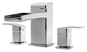Pfister Kenzo™ Two Handle Roman Tub Faucet in Polished Chrome Trim Only PRT65DF