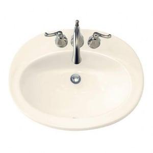 American Standard Piazza™ Drop-in Basin in Linen A0478803222
