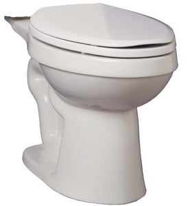 PROFLO® Edgehill 1.28 gpf Round Toilet Bowl in White PF9400WH