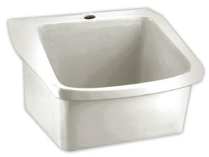 American Standard 28 x 22 x 12 in. Wall Mount Healthcare Sink in White A9047093020