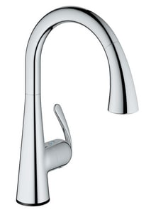 GROHE® Ladylux™ Pull-Down Spray Kitchen Faucet with Touch ...