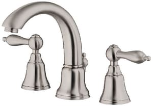 Danze Fairmont™ 1.5 gpm 2-Hole Double Lever Handle Mini Widespread Faucet in Brushed Nickel DD303040BN