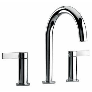 Fortis Brera 1.5 gpm Lavatory Faucet with Double Lever Handle in Polished Chrome F9221400PC