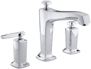 Kohler Margaux® Two Handle Roman Tub Faucet in Polished Chrome Trim Only KT16236-4