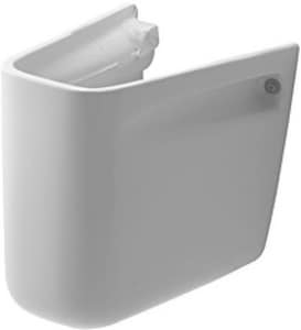 Duravit D-Code Vitreous China Siphon Cover for Basin in White Alpin D08571800002