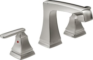 Delta Faucet Ashlyn® Two Handle Widespread Bathroom Sink Faucet in Stainless D3564SSMPUDST