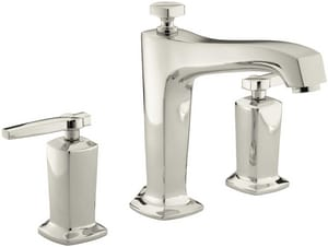Kohler Margaux® Two Handle Roman Tub Faucet in Vibrant Polished Nickel Trim Only KT16237-4-SN