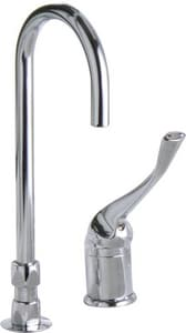Delta Faucet 1.5 gpm 2-Hole Widespread Lavatory Faucet with Single Lever Handle in Polished Chrome D24T2673LS