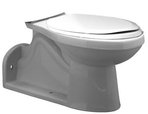 PROFLO® Gilpin 1 gpf Pressure Assist Elongated Floor Mount Toilet Bowl in White PF1605PAWH