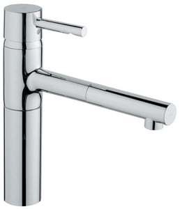Grohe Essence® Pull-Out Kitchen Faucet with Single Lever Handle in Starlight Polished Chrome G32170000