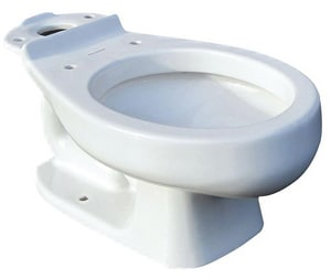 American Standard Baby Devoro™ FloWise® Round Toilet Bowl in White A3128001020