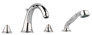 Grohe Geneva™ 2.5 gpm 4-Hole Bath Combination with Double-Handle G25506