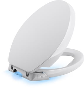 Kohler Purefresh® Elongated Closed Front Toilet Seat in White K5588-0