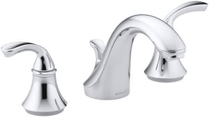 KOHLER Forte® Two Handle Widespread Bathroom Sink Faucet in Polished Chrome K10272-4-CP