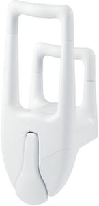 Moen Home Care® 7-2/5 in. Grab Bar in White MDN7075