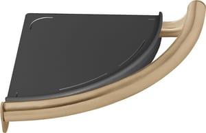 Delta Faucet Decor Assist™ Bath Safety Contemporary Corner Shelf in Champagne Bronze D41516CZ