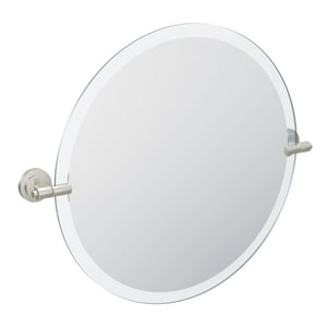 Moen Iso™ Mirror with Decorative Hardware in Polished Chrome CSIDN0792
