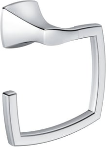 Moen Voss™ Rectangular Open Towel Ring in Polished Chrome MYB5186CH