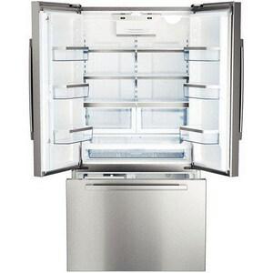Bosch 35-5/8 in. 16 cf Freestanding French Door Refrigerator BB22CT80SN