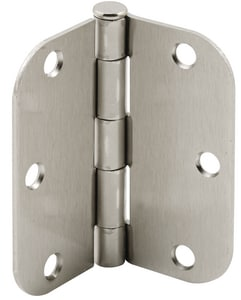 Primeline Products 3-1/2 x 3-1/2 in. Butt Hinge in Satin Brass 2-Pack PMP10807