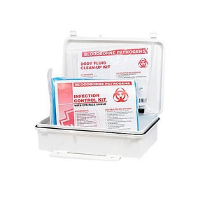North Safety Products Plastic Bloodborne Response Kit N0197460032L