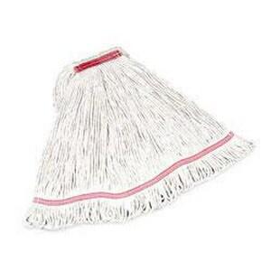 Rubbermaid Swinger Loop® Heavy Duty Medium Shrinkless Wet Mop in White RFGC21206WH00
