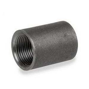 5 in. Threaded Extra Heavy Steel Tapered Black Malleable Coupling BXSCTTS