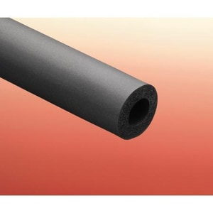 Nomaco Insulation FlexTherm® 3/8 x 1/2 in. 76-Pack Elastomer Wall Pipe Insulation N6RU048038