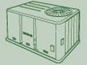 Trane Precedent™ 7.5 Tons Commercial Packaged Heat Pump TWSC090E3RKA045T