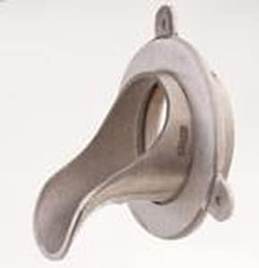 Jay R. Smith 3 in. Rough Brass Downspout Nozzle S1770T03