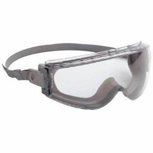 Uvex Clear Lens Safety Goggle with Grey Frame HS3960C