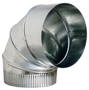 Snappy ADP 7 in. 26 ga 90 Degree Duct Elbow SNA3076