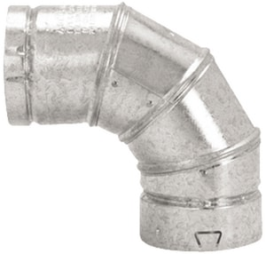Selkirk Americas 7 in. Type B Round Gas Vent 90 Degree Elbow M7RV90