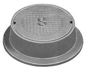 U.S. Foundry 13-1/2 in. Reversible Hand Hole Cover U7621FE