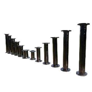Custom Fab 8 ft. Flange x Flange Cement Lined Bituminous Tar Ductile Iron Spool FFPX