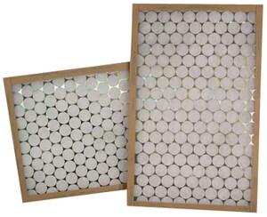 Glasfloss Industries 16 x 25 x 2 in. Fiberglass Air Filter GGTA16252