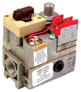 Honeywell Home VS820 1/2 in inlet/ 3/4 in outlet 0.75V Gas Valve HVS820A1047