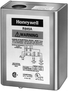 Honeywell Home R845 7.4 Amp Hydronic Pump Relay 120V 2 HR845A1030