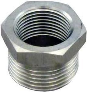 1/2 x 1/4 in. Threaded 150# 316 Stainless Steel Bushing DS6TBSP114DB