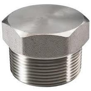 1 in. Threaded 150# 316 Stainless Steel HEX Plug DS6THSP114PG