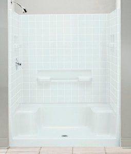 Sterling Advantage™ 60 x 60 in. Shower Back Wall Only in White S620421000