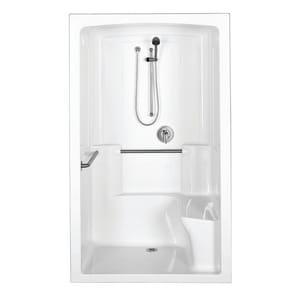 KOHLER Freewill® 52 x 37-1/2 in. in White K12110-C-0
