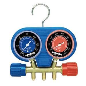 Service Solutions US 740 psi High Pressure Brass Manifold Set ROB41670